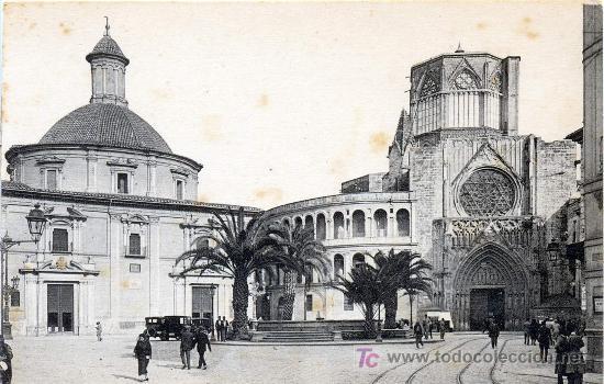 Valencia antigua comprar postales antiguas de la for Fotos antiguas de valencia