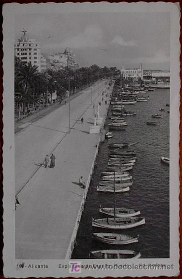 POSTAL ALICANTE (Postales - España - Comunidad Valenciana Antigua (hasta 1939))