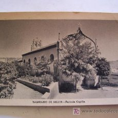 Postales: POSTAL DE BALNEARIO DE BELLUS - FACHADA CAPILLA (SIN CIRCULAR, AÑOS 60 APROX). Lote 22776642
