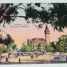 Cartoline: ANTIGUA POSTAL DE VALENCIA - PALACIO DE RIPALDA - NO CIRCULADA - ED. JOSE DURA PEREZ.. Lote 5025414