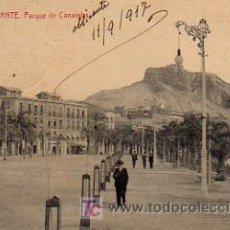 Postales: ALICANTE. PARQUE DE CANALEJAS. . Lote 5223230