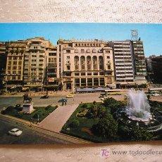 Postales: VALENCIA-PLAZA DEL CAUDILLO- 1979-FRANCO.. Lote 16732967