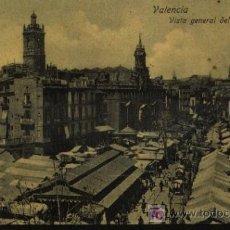 Cartes Postales: VALENCIA. VISTA GENERAL DEL MERCADO. LIBRERÍA O´RECUNCHO.. Lote 15431619