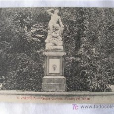Postales: POSTAL ANTIGUA DE VALENCIA FUENTE DEL TRITON. Lote 6060157