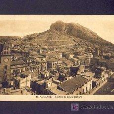 Postales: POSTAL D' ALACANT: CASTELL DE SANTA BARBARA (FOTO SANCHEZ NUM.40). Lote 6124664