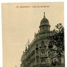 Postales: VALENCIA, CALLE DE LAS BARCAS, EDITORES: SANCHIS HERMANOS, P16784. Lote 9618994