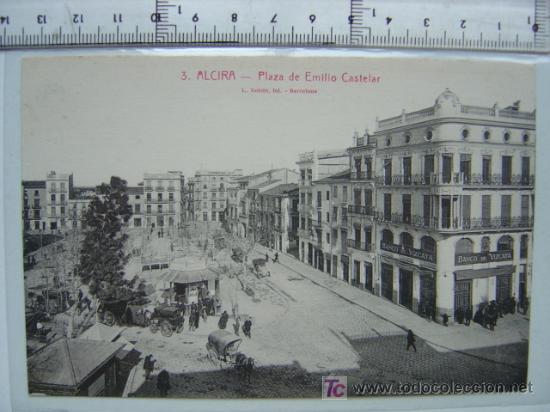 ALCIRA (VALENCIA) (Postales - España - Comunidad Valenciana Antigua (hasta 1939))