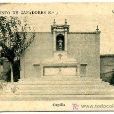 Postales: VALENCIA, REGIMIENTO DE ZAPADORES, CAPILLA, P18209. Lote 9647941