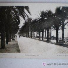 Postales: 77. ALICANTE. PASEO DE LOS MARTIRES. FOTO: ROISIN. . Lote 17881354