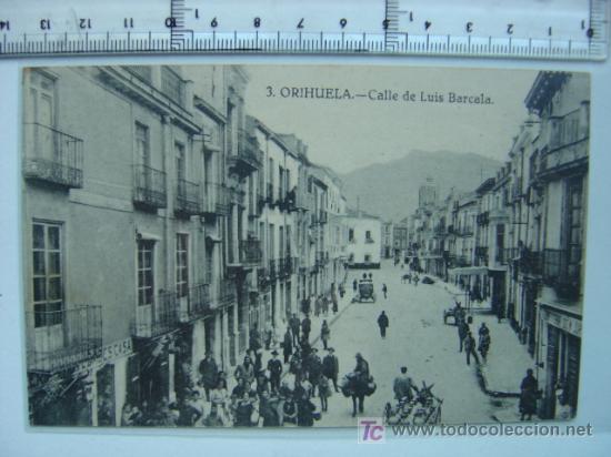 ORIHUELA (ALICANTE) (Postales - España - Comunidad Valenciana Antigua (hasta 1939))