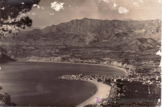 VISTA PANORAMICA DE BENIDORM.CIRCULADA 1957 (Postales - España - Comunidad Valenciana Moderna (desde 1940))