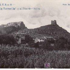 Postales: CHELVA. LA TORRECILLA Y EL PICO DE CHELVA. NO CIRCULADA.. Lote 24621091