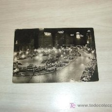 Postales: VALENCIA PLAZA DEL CAUDILLO DE NOCHE,FOTO PENFEL. Lote 6845557