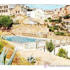 Postales: POSTAL DE BOCAIRENTE -2- PISCINA (ESCRITA 1969, SIN CIRCULAR). Lote 24712069