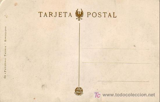 Postales: VALENCIA: PUENTE DEL MAR. FOTOTIPIA THOMAS. SIN CIRCULAR. TEMATICA: TRANVIAS. CARROS. PRECIOSA RARA - Foto 2 - 26222866