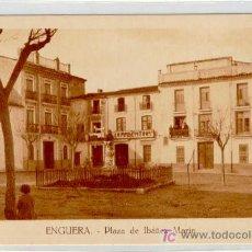 Postales: (PS-4663)POSTAL DE ENGUERA(VALENCIA)-PLAZA DE IBAÑEZ MARIN. Lote 7379220