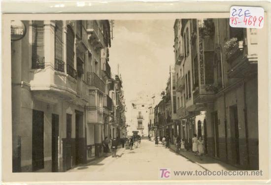 (PS-4699)POSTAL DE ONDA(CASTELLON)-CALLE DE SAN MIGUEL (Postales - España - Comunidad Valenciana Moderna (desde 1940))
