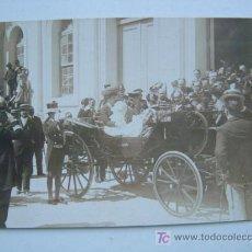 Postales: VALENCIA - EXPOSICION REGIONAL VALENCIANA AÑO 1909 - POSTAL FOTOGRAFICA - S.M. VICTORIA EUGENIA. Lote 13161049