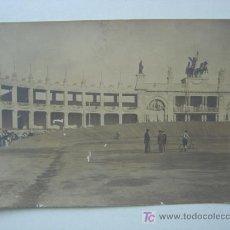 Postales: VALENCIA - EXPOSICION REGIONAL VALENCIANA AÑO 1909 - POSTAL FOTOGRAFICA - LA GRAN PISTA CICLISTA. Lote 9909987