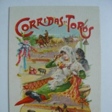 Postales: VALENCIA - EXPOSICION REGIONAL VALENCIANA AÑO 1909 - CORRIDAS DE TOROS. Lote 9909960