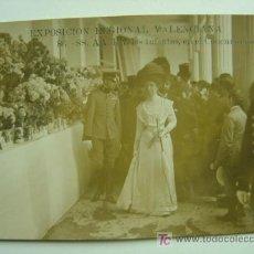 Postales: VALENCIA - EXPOSICION REGIONAL VALENCIANA AÑO 1909 -FOTOGRAFICA-LOS INFANTES EN CONCU CLAVELES-Nº 86. Lote 12774506