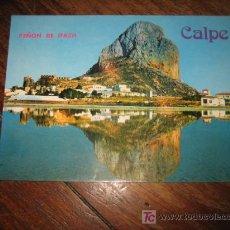 Postales: CALPE ALICANTE PEÑON IFACH . Lote 7516089