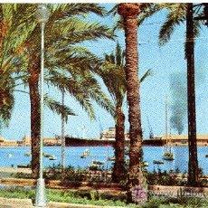 Postales: ALICANTE, EXPLANADA Y PUERTO-ESCRITA 1961(VER FOTO) FOTO HUESCA. Lote 26411351