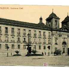 Postales: VALENCIA - GOBIERNO CIVIL- 101 FOTOTIPIA THOMAS-BARCELONA (NUEVA SIN USAR). Lote 25182731