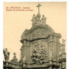 Postales: VALENCIA - CATEDRAL- 102 FOTOTIPIA THOMAS-BARCELONA (NUEVA SIN USAR). Lote 23835186