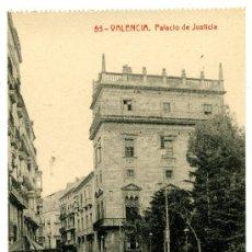 Postales: VALENCIA - PALACIO DE JUSTICIA- 103 FOTOTIPIA THOMAS-BARCELONA (NUEVA SIN USAR). Lote 25182732