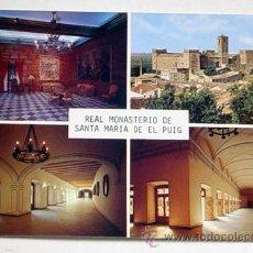 Postales: 7-REAL MONASTERIO DE SANTA MARIA DE EL PUIG.VALENCIA.NO CIRCULADA.. Lote 8309264