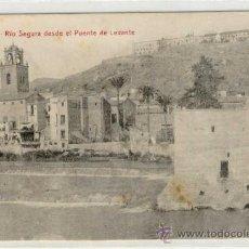Postales: (PS-6280)POSTAL DE ORIHUELA(ALICANTE)-RIO SEGURA DESDE EL PUENTE DE LEVANTE. Lote 8685264