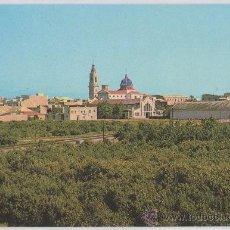 Postales: POSTAL DE NULES VISTA PARCIAL Y NARANJALES CASTELLON. Lote 8898515
