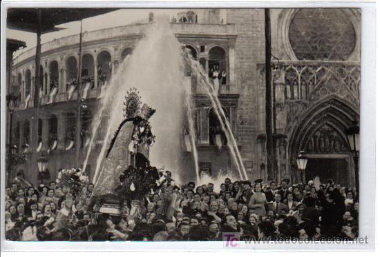 VALENCIA - 551 TRASLADO DE LA VIRGEN A LA CATEDRAL - (Postales - España - Comunidad Valenciana Moderna (desde 1940))