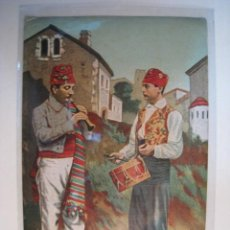 Postales: POSTAL ANTIGUA VALENCIA - DULZAINERO Y TAMBORILERO (5). Lote 8998441