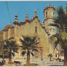 Postales: POSTAL DE BENICARLO IGLESIA PARROQUIAL CASTELLON. Lote 9333066