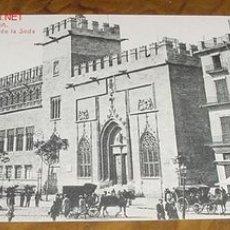 Postales: ANTIGUA POSTAL DE VALENCIA - LONJA DE LA SEDA - ED. THOMAS- VALENCIA. Lote 21822952