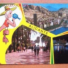 Postales: POSTAL DE ALICANTE, BELLEZAS DE LA CIUDAD - GARCÍA GARABELLA Y CIA Nº 60. Lote 16501871