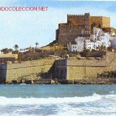 Postales: PEÑÍSCOLA: CASTILLO Y MURALLAS. Lote 2004678