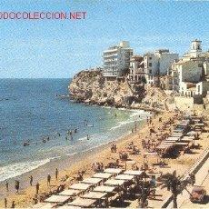 Postales: BENIDORM PLAYA DE LEVANTE. Lote 26607162