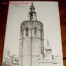 Postales: ANTIGUA POSTAL DE VALENCIA - EL MIGUELETE - ED. HAUSER Y MENET -NO CIRCULADA.. Lote 2564878