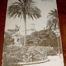 Postales: ANTIGUA POSTAL DE VALENCIA -PLAZA DEL PRINCIPE AÑFONSO - ED. HAUSER Y MENET -NO CIRCULADA.. Lote 2564898
