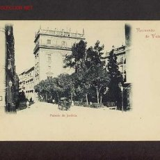 Postales: POSTAL DE VALENCIA: PALAU DE JUSTICIA (LLIBR.RAMON ORTEGA). Lote 9398155