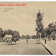 Postales: VALENCIA. ALAMEDA. COLECCION E. B. P. Nº 5. CIRCULADA. Lote 2750179