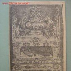 Postales: VILLARREAL (CASTELLON) - IMP. HIJOS DE J. BOTELLA - SEPULCRO DE SAN JUAN BAILON. Lote 14132067