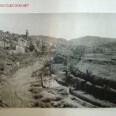 Postales: TERESA (CASTELLON) - FOTO GOMEZ - MERENDERO Y RIO PALANCIA. Lote 15760652