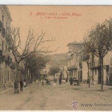 Postales: (PS-7943)POSTAL DE MONCADA-CALLE MAYOR. Lote 10351249