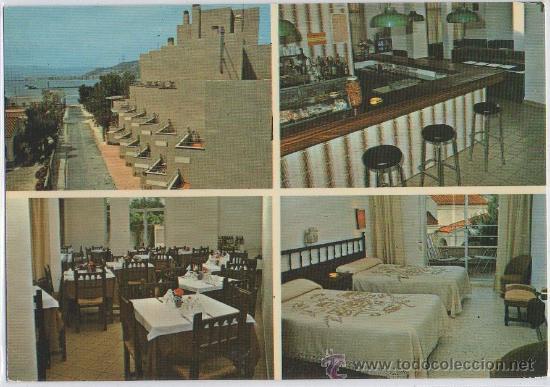 TARJETA POSTAL DE FARO DE CULLERA HOTEL L'ESCALA VALENCIA (Postales - España - Comunidad Valenciana Moderna (desde 1940))