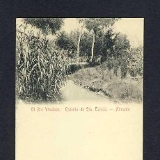 Cartoline: POSTAL D' ALACANT: COLONIA DE SANTA EULALIA: RIU VINALOPÓ. Lote 10542817