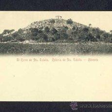 Cartoline: POSTAL D' ALACANT: COLONIA DE SANTA EULALIA: EL PUIG DE SANTA EULALIA. Lote 10542894